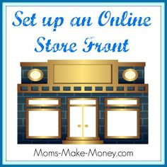 How to set up an online store front to sell affiliate products and your own products. Looks really professional.