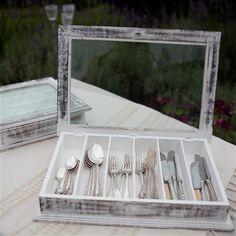 Nkuku Safia Large Cutlery Box | ACHICA