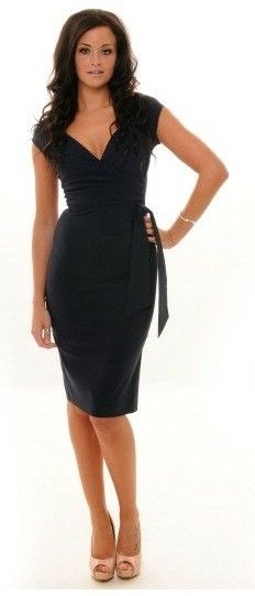 So Couture - Hourglass dress black. Get in my closet!