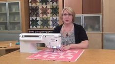 Do you notice your seams bow when sewing long strips? To keep your long strips straight, follow this simple tip.