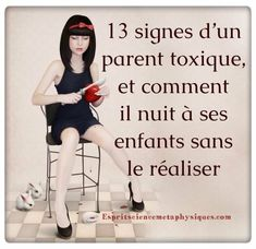 signes d'un parent toxique