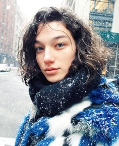 7 Models Who'll Be Taking Over New York This Season Male Eyes, Male Face, Beautiful Person, Beautiful People, Mckenna Hellam, Vintage Soul, I Love Girls, Interesting Faces, Woman Face