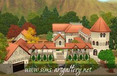 Villa Lauretta http://www.sims-artgallery.net/en/gallery/sims-3/lots/residential-lots/large/325/