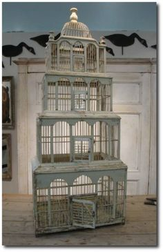 century french birdcage from Appley Hoare