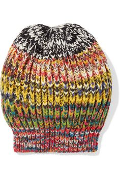 4ba7796db1f Missoni - Crochet-knit wool-blend beanie