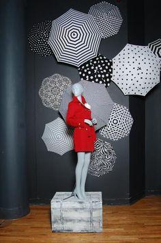Showroom 2012. Polka Dot Umbrellas.