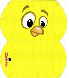 Lottie Dottie Chicken: Free Printable Boxes.