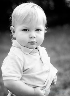 Serious baby - Rachel Smook Photography