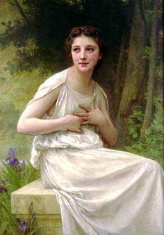William Adolphe Bouguereau >> Reflexion