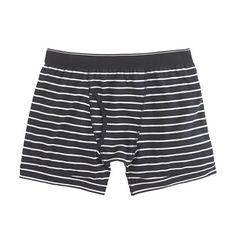 Knit boxer briefs in stripe.jcrew
