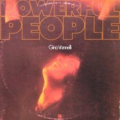 Gino Vannelli - Powerful People CANADA 1974 Lp vg++