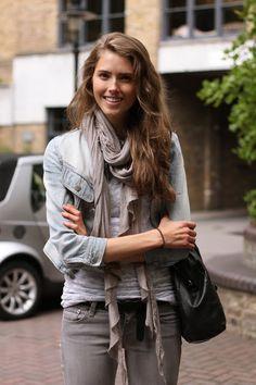 london, denim jacket I want that!!