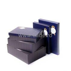 Set 4 cutii de cadou Especially Blue-big Outdoor Furniture, Outdoor Decor, Outdoor Storage, Big, Home Decor, Decoration Home, Room Decor, Home Interior Design, Backyard Furniture