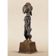 <P>Superbe statue féminine</P>, Baulé, Côte d'Ivoire   lot   Sotheby's