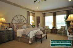 Summer Lake Ranch Model Master Bedroom