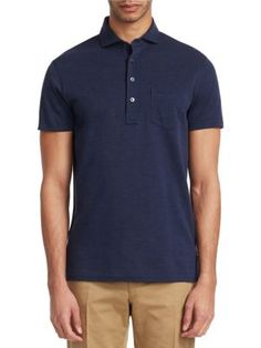 Ralph Lauren Garment Wash Piqué Polo - Metro Navy X-Large 1798905f473a