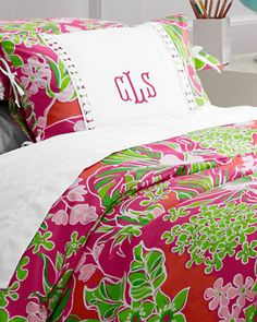 Lilly Pulitzer® Sister Florals Comforter Cover Collection in Luscious Daiquiri Pink