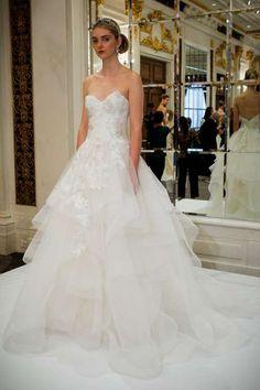 La presentación de Marchesa Bridal siempre es una de las más esperadas y esta vez no fue la excepció... - Getty Images