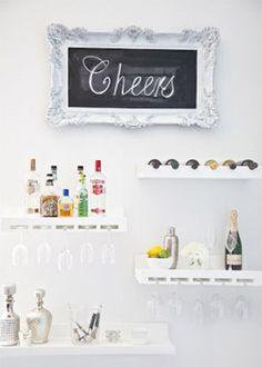 Bebidas na parede? Simmmmm!