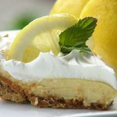 Lemon Ice Box Pie - - my favorite!    3 egg yolks 1 (14 ounce) can EAGLE BRAND® Sweetened Condensed Milk 1/2 cup lemon juice 1 (8- or 9-inch) baked pie crust or graham cracker crumb crust Whipped topping or whipped cream Lemon zest (optional)  Preheat oven to 325 degrees F. Beat egg yolks in medium bowl with rotary beater or fork; gradually beat in sweetened condensed milk and lemon juice. Pour into crust.   Bake 30 to 35 minutes or until set. Remove from oven. Cool 1 hour. Chill at least 3…