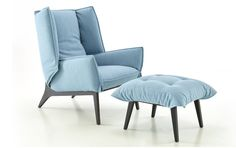 Armchairs and living rooms on pinterest - Fauteuil cinna ottoman ...