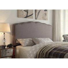 Mirielle King Upholstered Headboard - Grey