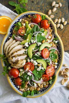 Middle Eastern Super Salad
