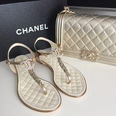 751c5e9cc0 Chanel sandals and matching purse - Anastassia Krez