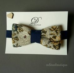 Tapestry bow tie. Carpet bow tie. Unique bow tie. by ditasboutique