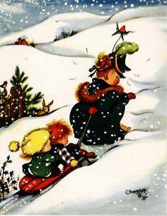 #Christmas #snow #Charlot