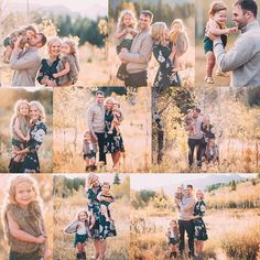 Fall family pictures Outfits Boutique Family Photographer Utah Photographer Family Photography Portraits by Andra Fall Family Picture Outfits, Spring Family Pictures, Family Photos With Baby, Outdoor Family Photos, Family Picture Poses, Baby Family, Family Pics, Family Photo Colors, Family Photo Sessions