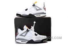 huge discount 56a7b a17f3 Air Jordan 4 Bull White Black Cement Grey Leather Lastest, Price   80.00 -  Reebok Shoes,Reebok Classic,Reebok Mens Shoes