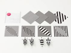 special made #origami paper for crane, cute polka dots and stripes