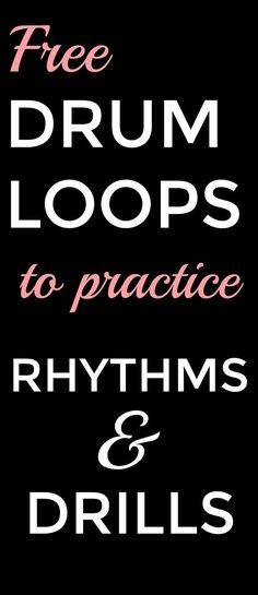 Drum Loop Practice Tools Metronome vs. Drum Loops I used to have my students practice their rhythms with a metronome, but obser...