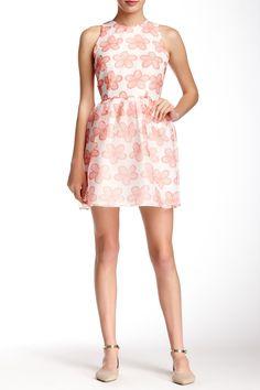 Floral Print Organza Dress by BB Dakota on @HauteLook