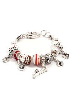Play Ball Bracelet in Silver