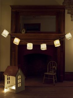 heather ross- name lantern light