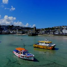 Sunny day, harbourside #StIves