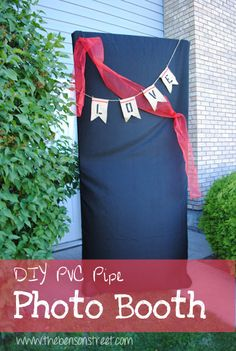 DIY Photo Booth Tutorial at www.thebensonstreet.com #diy #photobooth #thebensonstreet