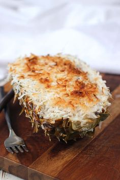AIP stuffed pineapple (whole pineapple, banana, coconut, coconut milk, cinnamon) yum!!!