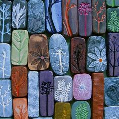 carved stones