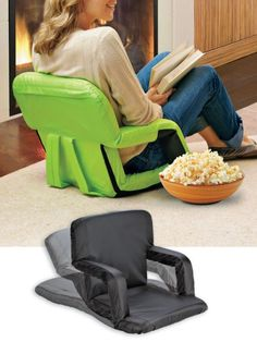 Portable Recliner with Armrests   Solutions