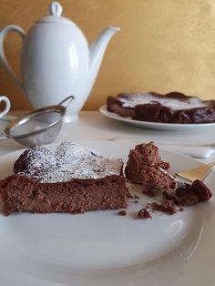Torta di ricotta cremosa al cioccolato - Rosly a passion for pastry Oreo, Panna Cotta, Pudding, Ethnic Recipes, Desserts, Food, Food Cakes, Deserts, Thermomix