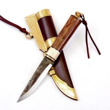 Viking Knife replica accordinfg to an original find from Slite Torg on the swedsh isle Gotland - Available in wholesale and retail on www.peraperis.com - The house of history