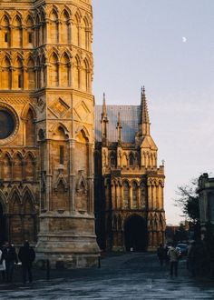 wanderthewood:Lincoln Cathedral, Lincolnshire, England by Tom.Brook
