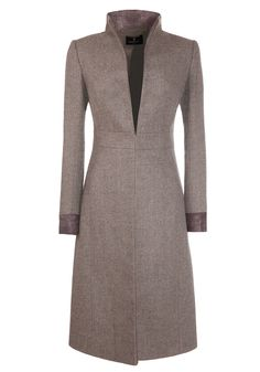 The Buxton coat is a waisted dress coat that is often worn as a special occasion piece. Designed to have an upright collar that can be folded down to create...