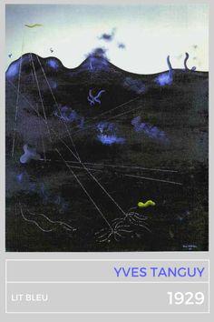 Yves Tanguy, Lit Bleu, 1929