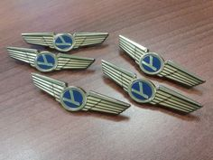 Airplane Wedding Favors Pilot Wings Pins by AirlineMemorabilia, $4.92