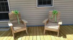 Cedar Deck Chairs