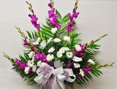 Eva's traditional funeral arrangement